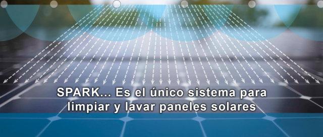 spark_Limpiador de paneles solares